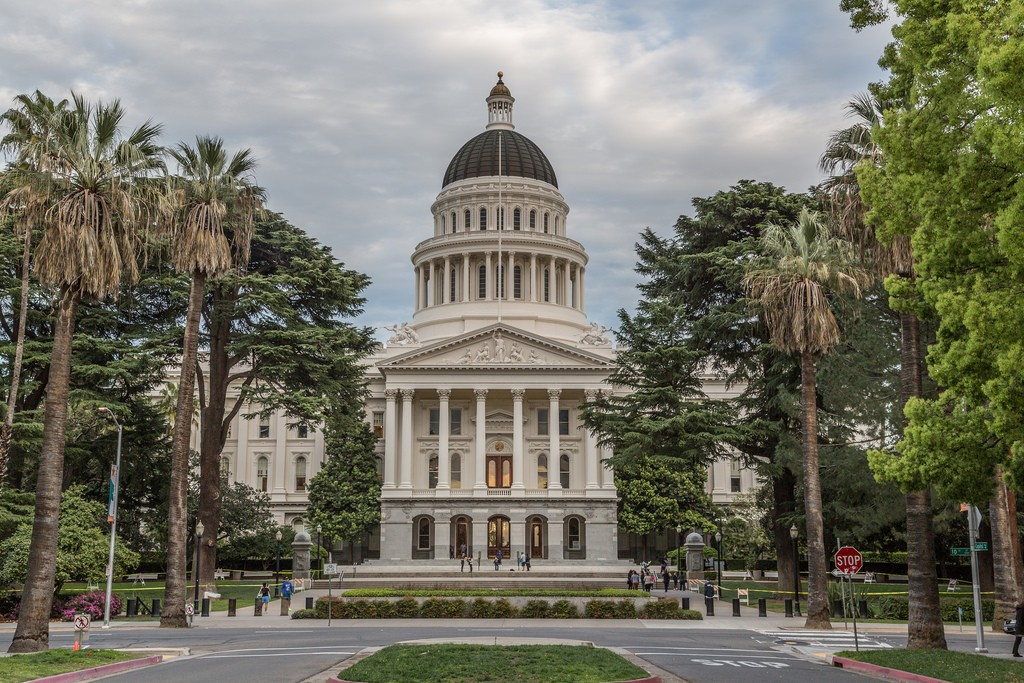 Sacramento is the capital of California
